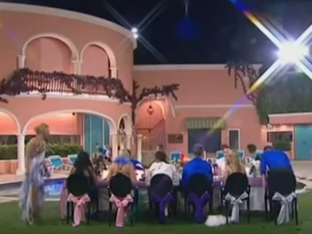 The Big Brother house in better days. Picture: Supplied