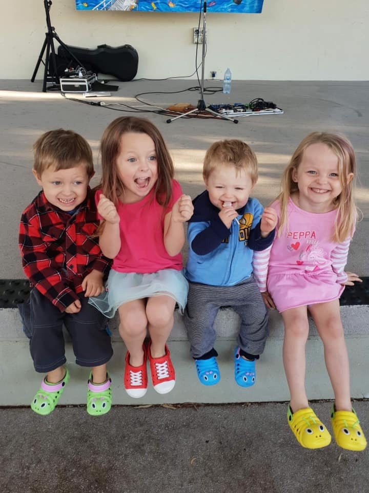 HEARTBREAKING: Wyatt, Aaleyn, Zaidok and Matilda McLeod died after being injured in the crash on the Bunya Highway.