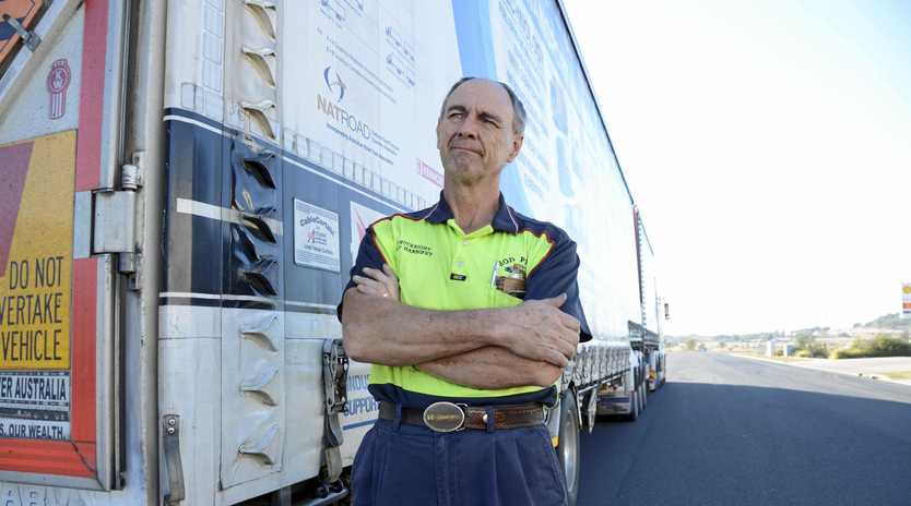 GIVE US A BREAK: Truckie advocate and driver Rod Hannifey believes the NTC-led review of the HVNL needs to be simplified.