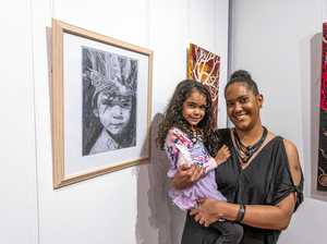 Indigenous art prize a real family affair
