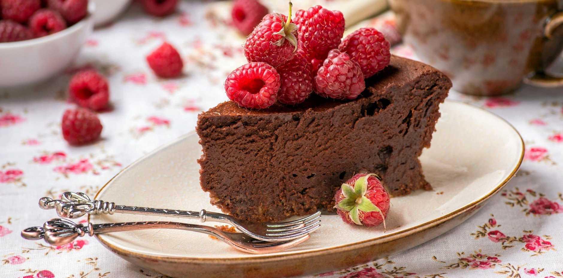 Maggie Cooper's truffle cake.