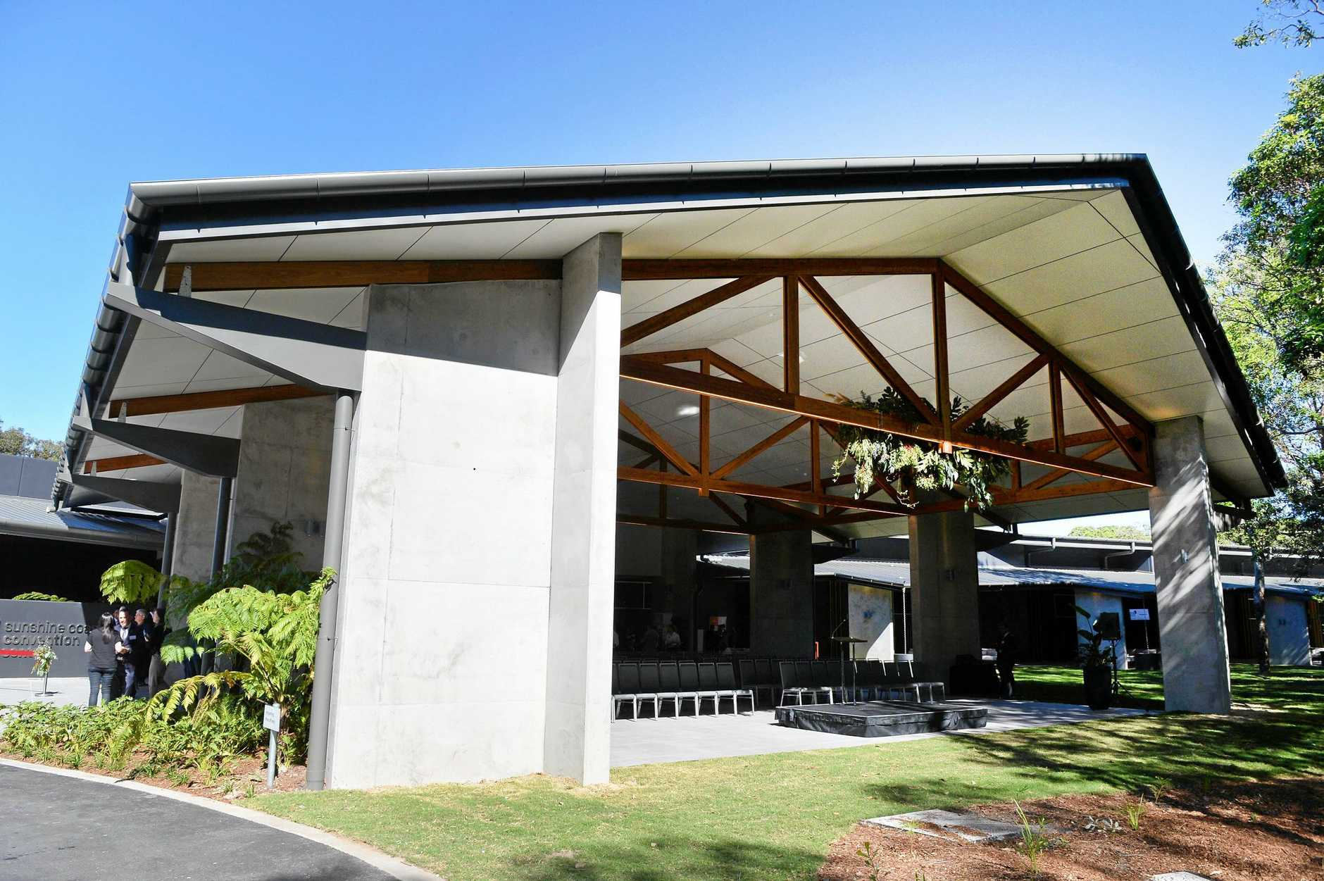 Official opning of the new Sunshine Coast Convention Centre, Twin Waters.