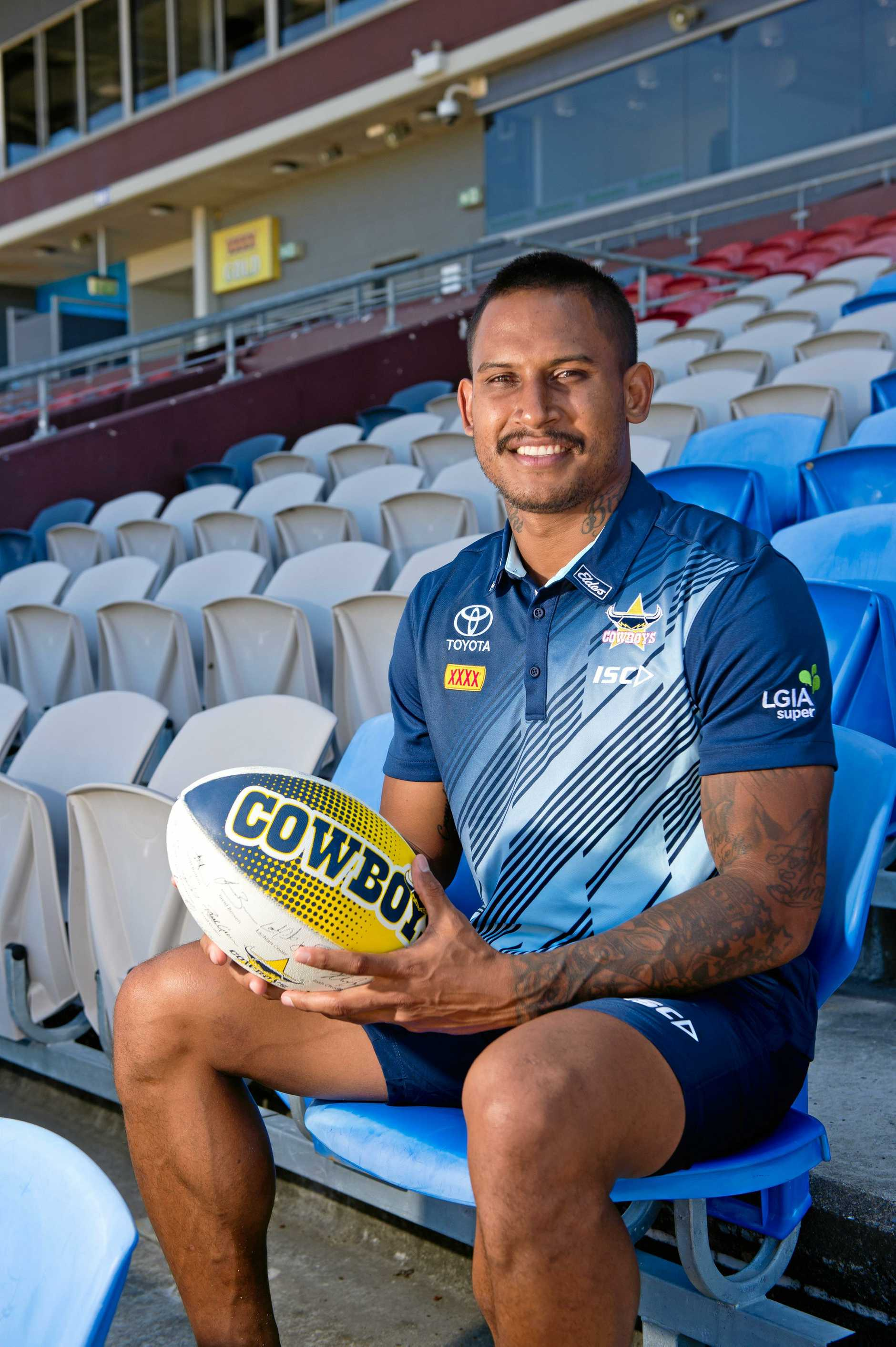 Ben Barba's contract with the Cowboys was torn up after a public nuisance incident with his long-term partner Ainslie Currie.