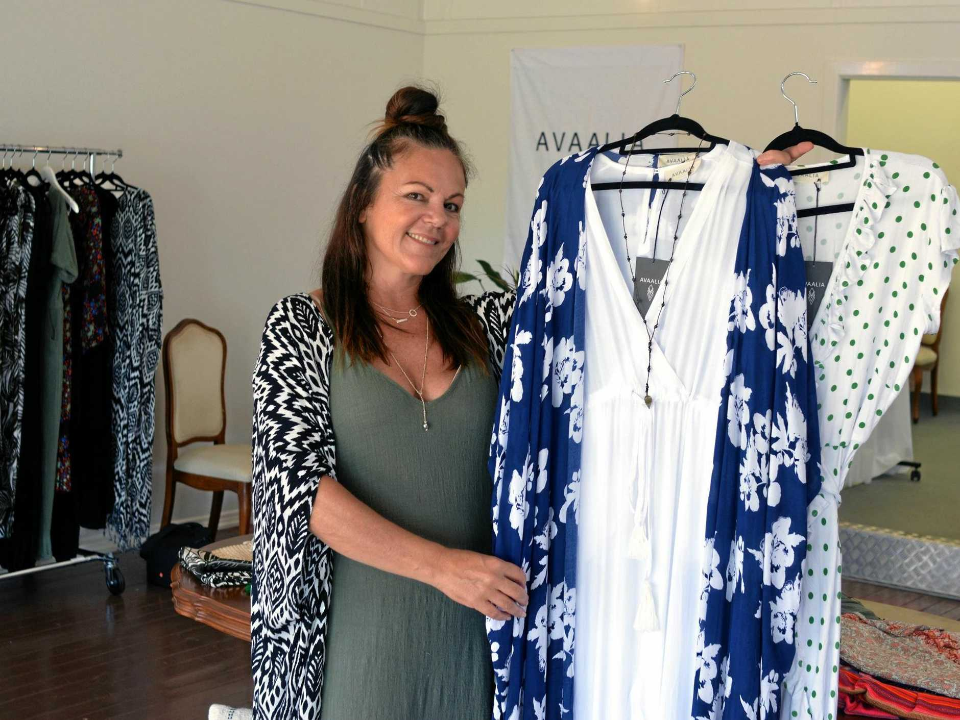 OPEN FOR BUSINESS: New shop, Clothing shop Avaalia by local established designer Julianne Parsons popped up in Alstonville.