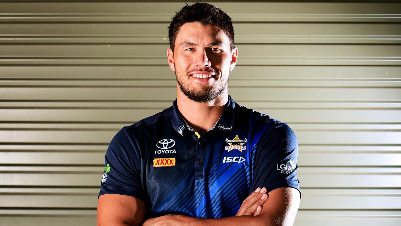 NRL; North Queensland Cowboys' Jordan McLean. Picture: Alix Sweeney