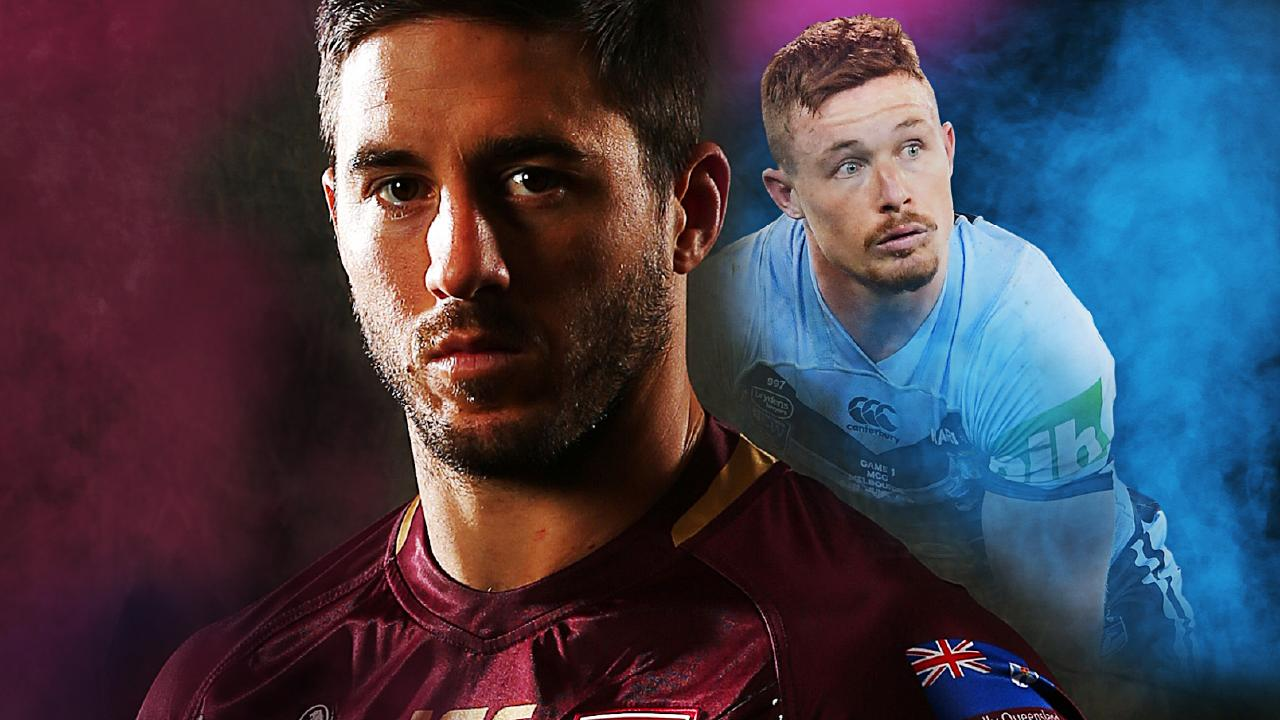 Ben Hunt and Damien Cook will square off in the No. 9 jerseys