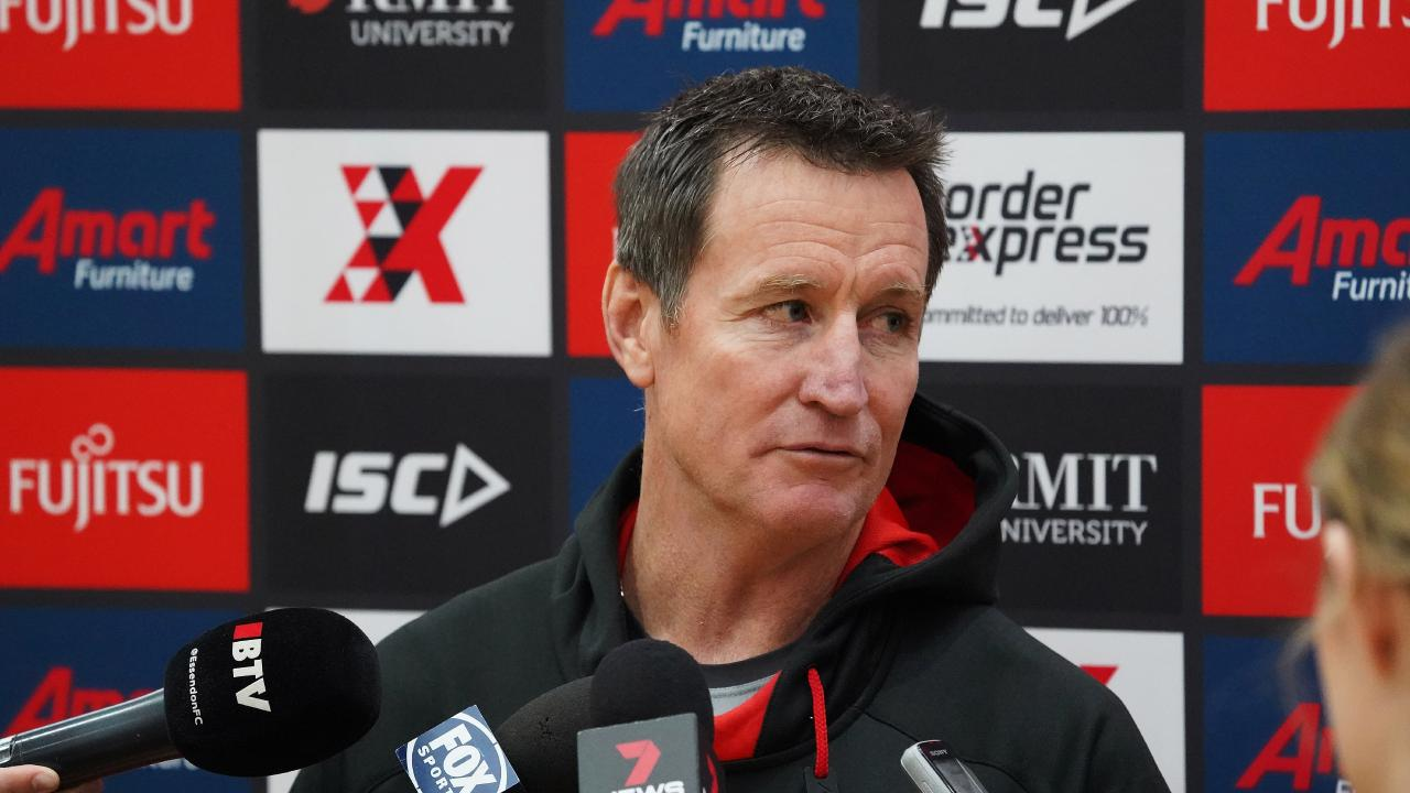 Essendon and John Worsfold are under pressure. Pic: AAP