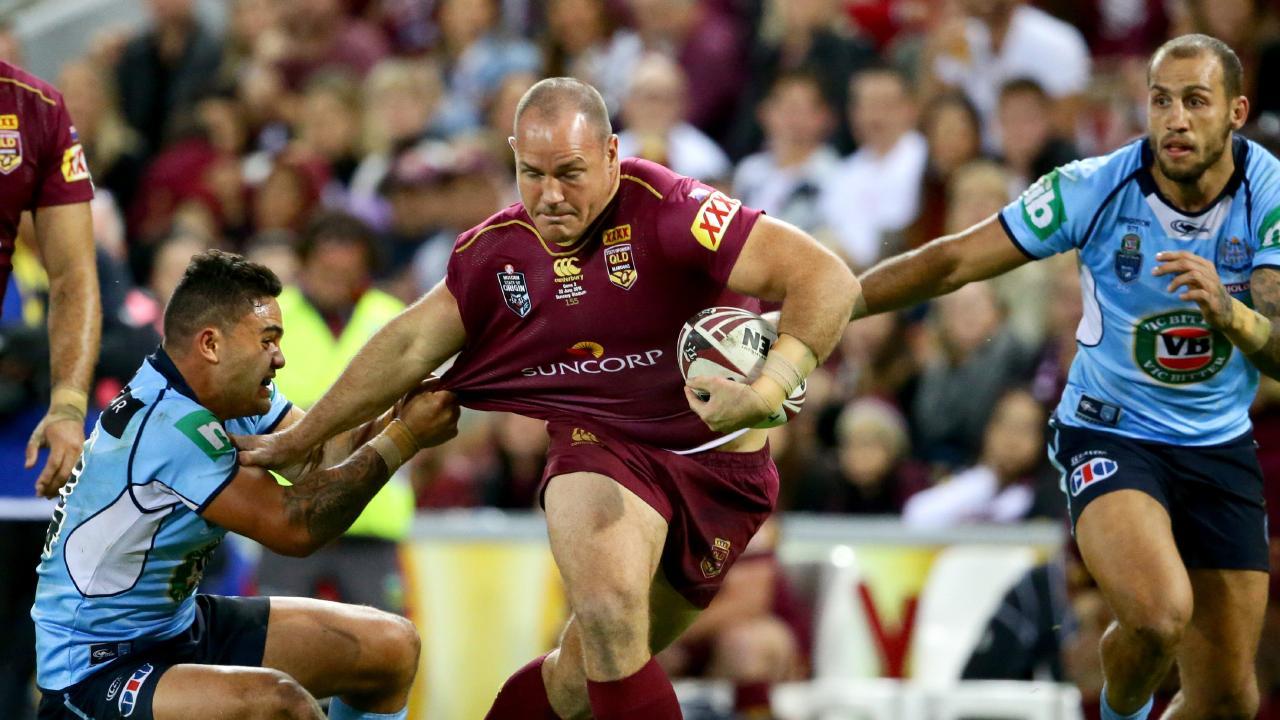 Matt Scott led Queensland's pack for years. Picture: Darren England