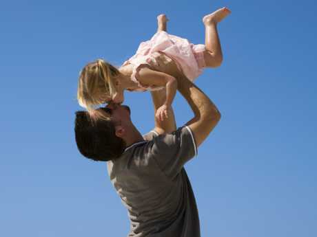 Men's lives are not nearly as altered by having a kid as women's.