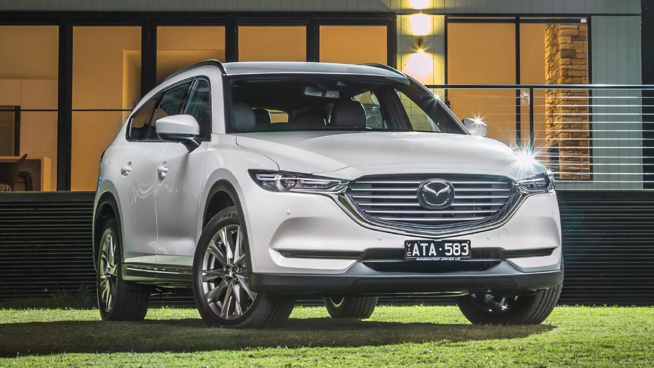 2019 Mazda CX-8.