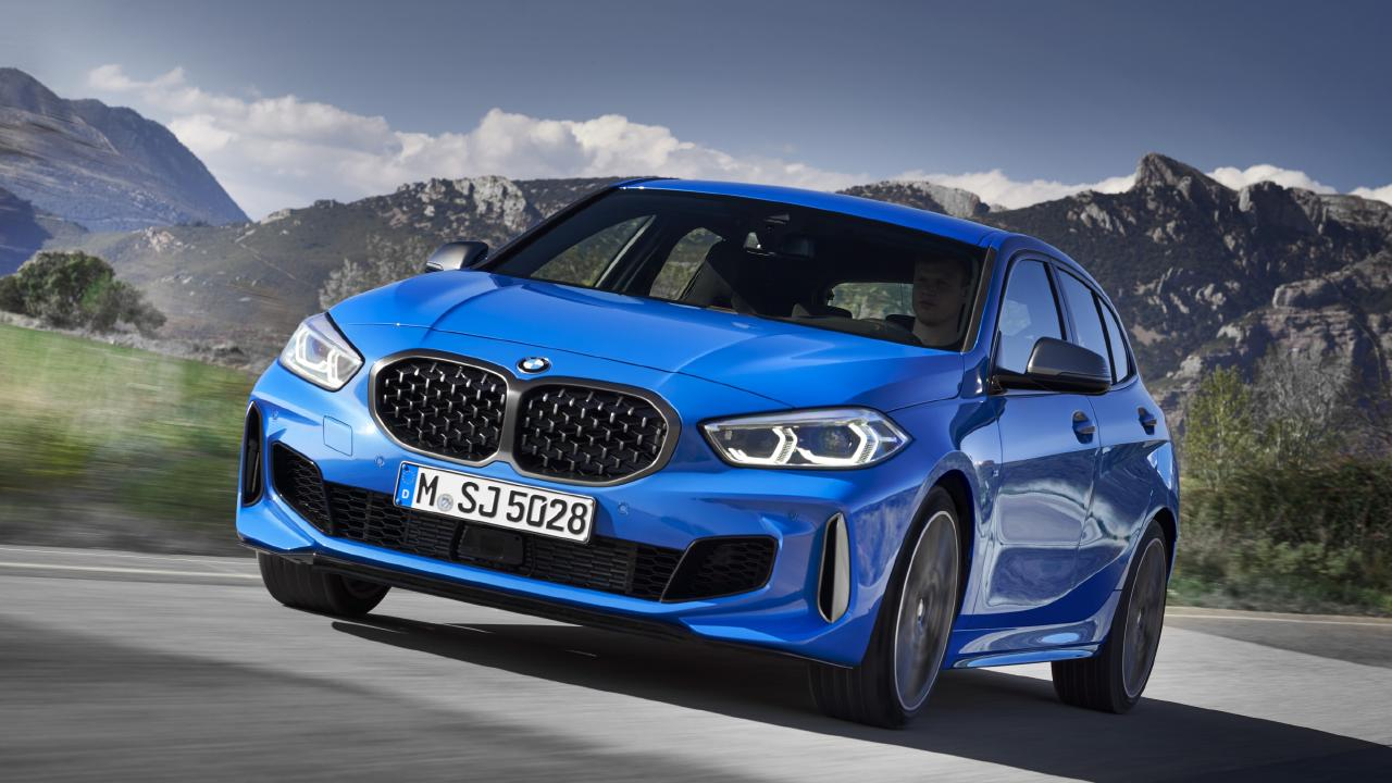 The new BMW 1 Series has ditched its rear-wheel drive layout.
