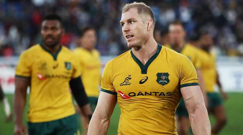 David Pocock hopes to pull on the Wallabies jersey again.
