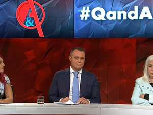 Shameful moment slammed on Q&A