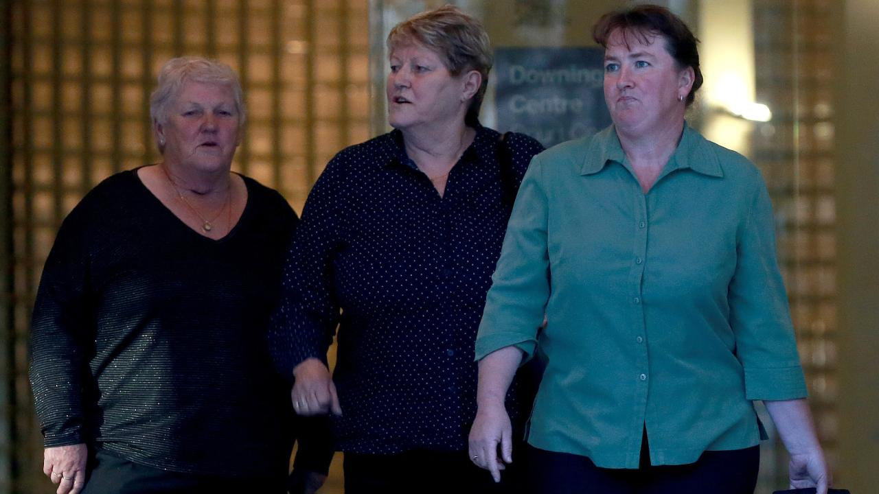 Matthew Pendle's mother Edna Read (centre) broke down in court as her victim impact statement was read. Picture: Toby Zerna