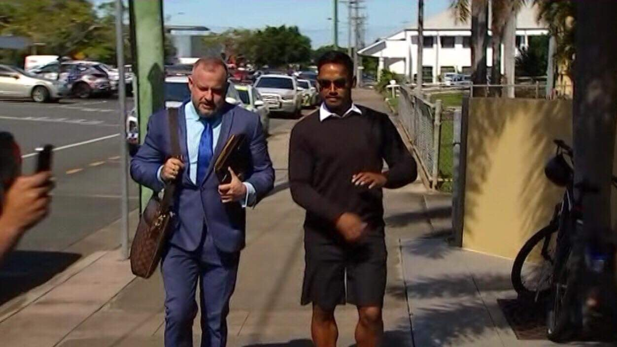 Ben Barba has appeared at Mackay Magistrates Court this morning.