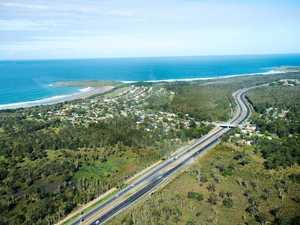 Highway detour for road repairs