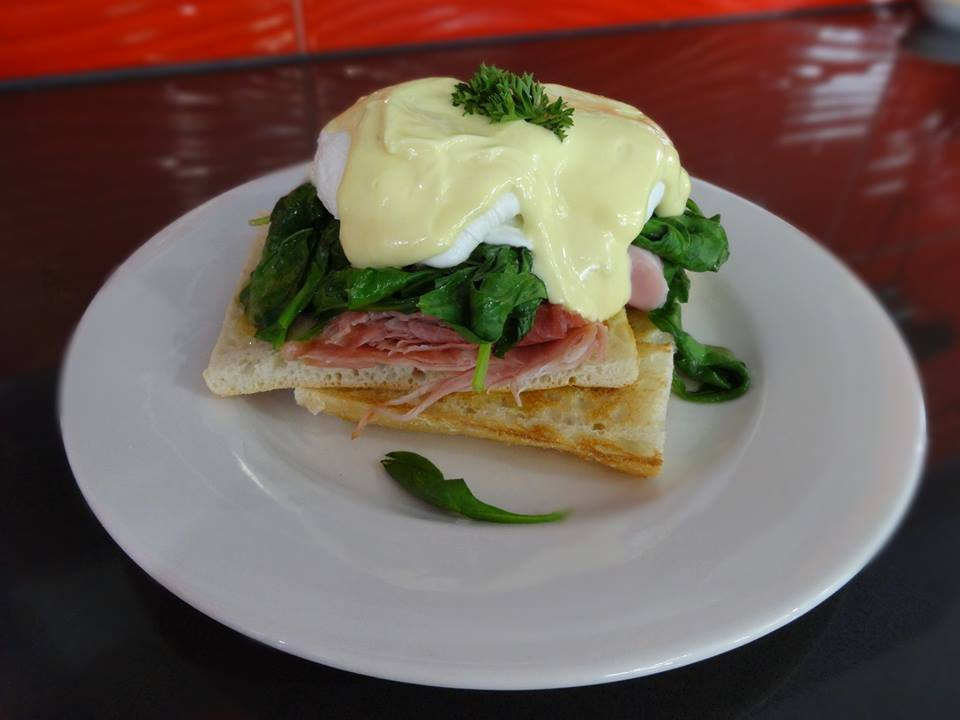 Nominations for the best eggs benedict in Toowoomba. Pump.