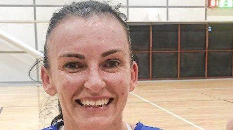 Goodna Sapphires netballer Rebecca Asquith.