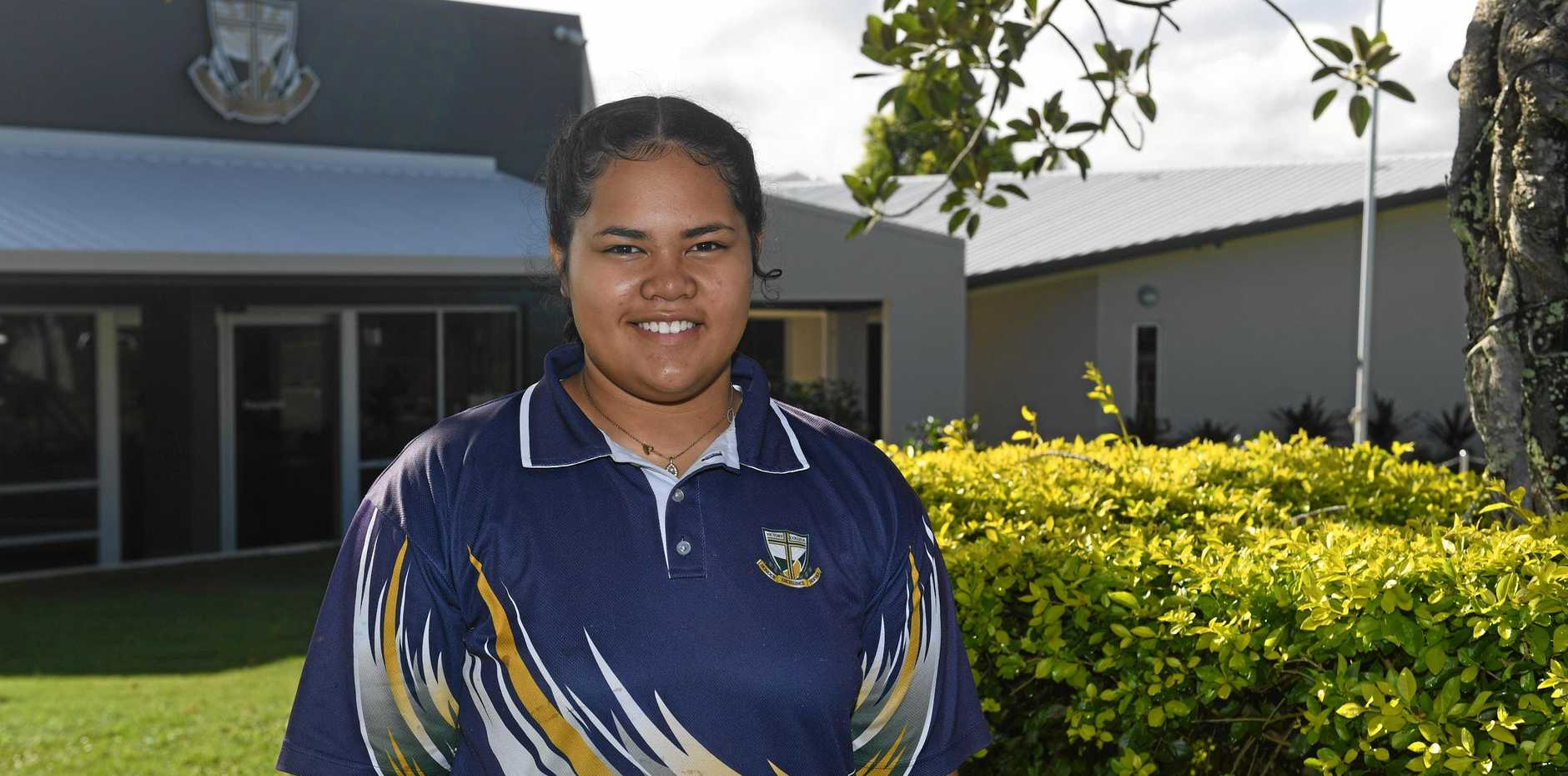 SPORTING LIFE: Victory College star student Ruby Aitofi has a full schedule of sporting commitments, but still finds time for multiple musical interests.