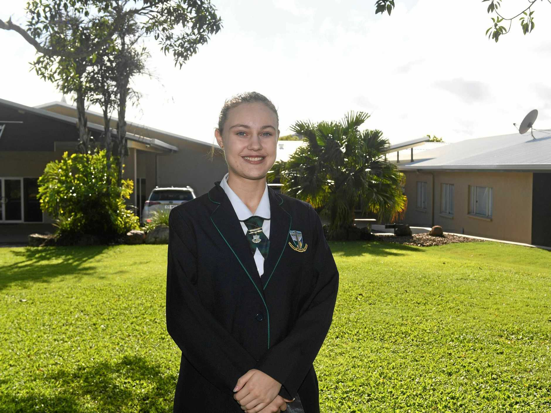 STAR: Alichia Snowdon is a musical and drama star at Victory College