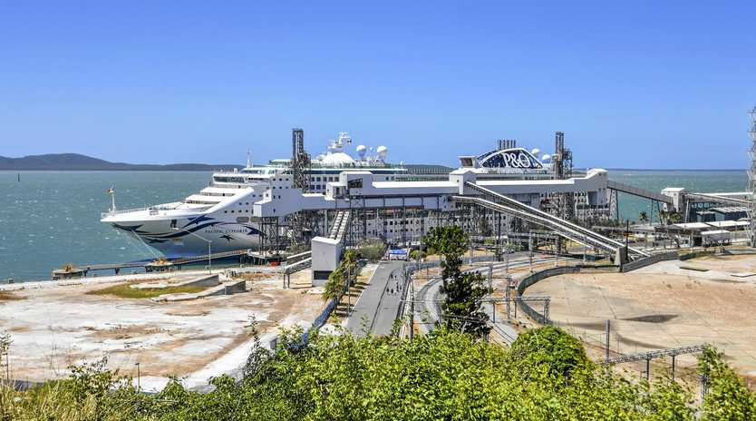 The P&O Pacific Explorer cruise ship will return to Gladstone next Tuesday.