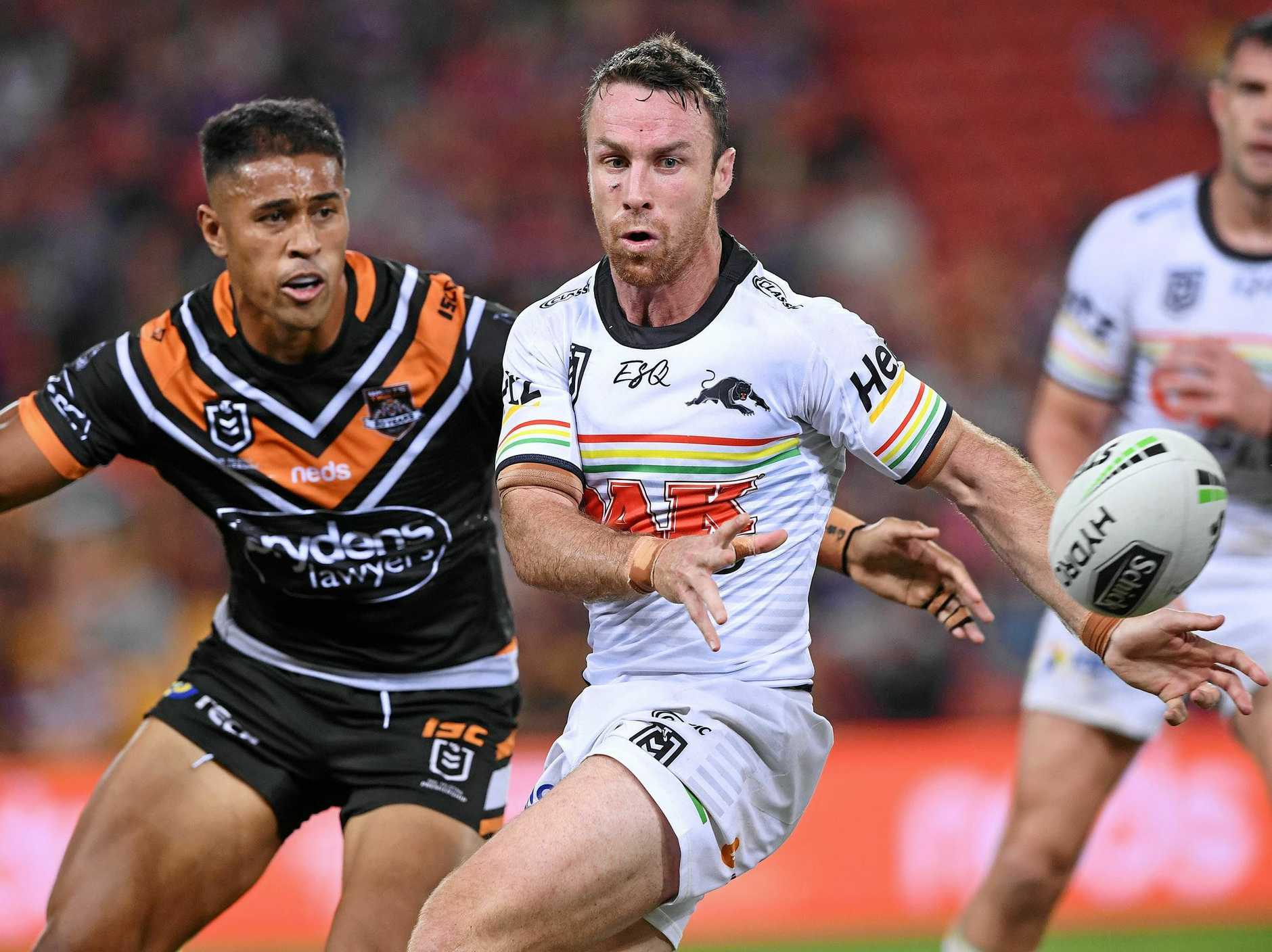 The Panthers need playmaker James Maloney to deliver the goods. Picture: Dave Hunt/AAP