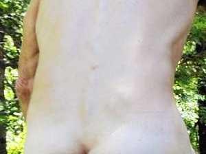 Naked man tasered after arming himself with knives at marina