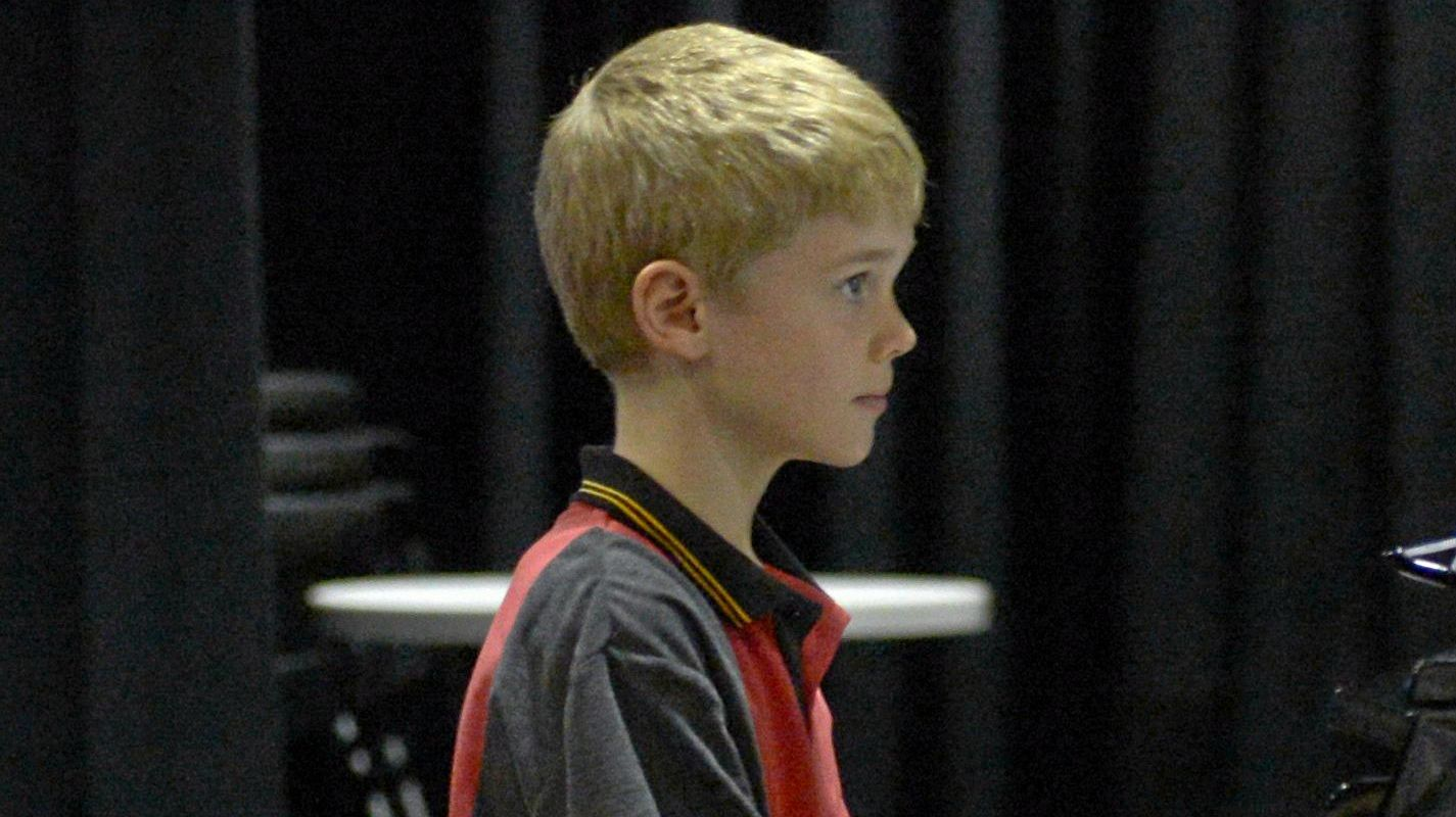 Edmund Rayner in Section 401 - Piano Solo 7 years (Kylie-Maree, Lachlan and Daena Scheuber perpetual trophy)