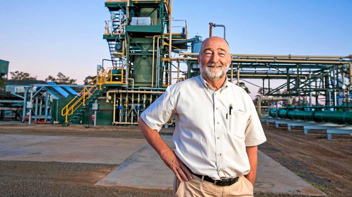 TYRE RECYCLER: Chief operating officer of Green Distillation Technologies Corporation Trevor Bayley said he was excited to secure approvals for his facility from Toowoomba Regional Council.