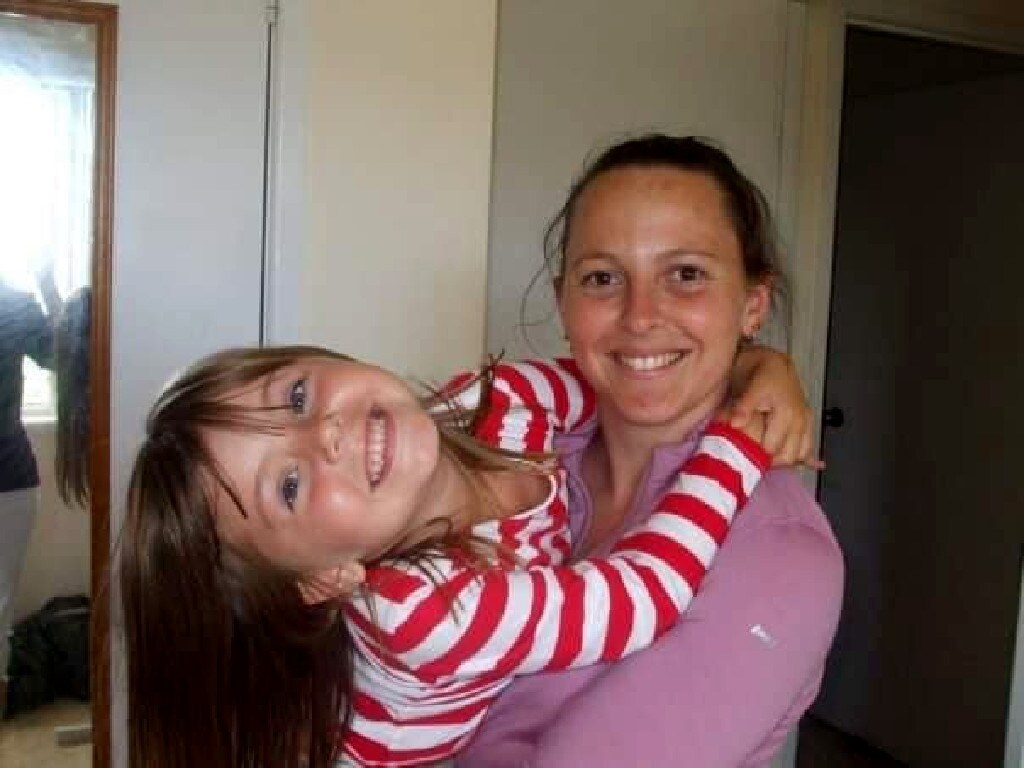 Charmaine McLeod and one of her daughters. Picture: Facebook.