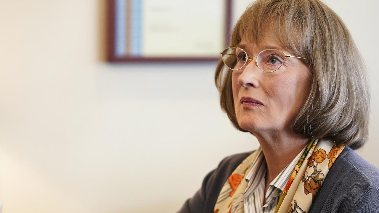 Oscar-winner Meryl Streep was seriously intimidating in character on the set of Big Little Lies' second season. Picture: HBO/ Supplied