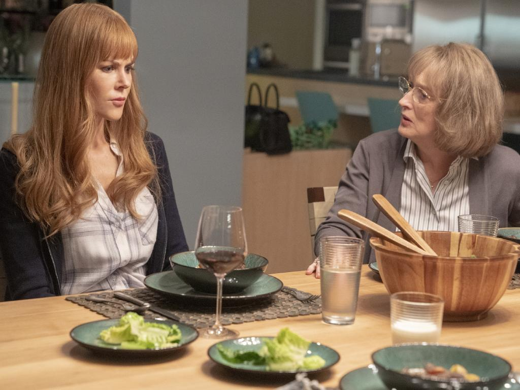 Nicole Kidman and Meryl Streep share some killer scenes in the second series of Big Little Lies.