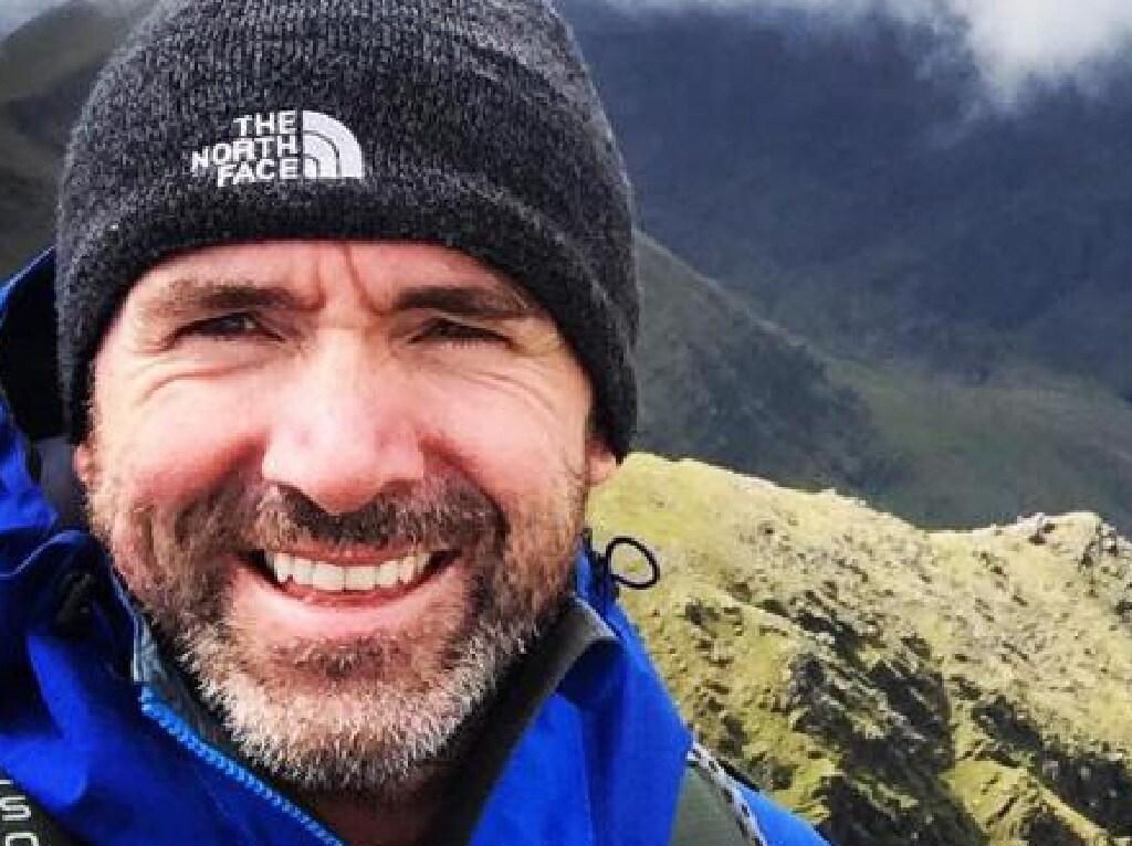 Irish climber Seamus Lawless.