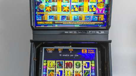 Pokie numbers on the Gold Coast are a key question at the heart of the debate around a Gold Coast tourism hub. Picture: Valeriu Campan