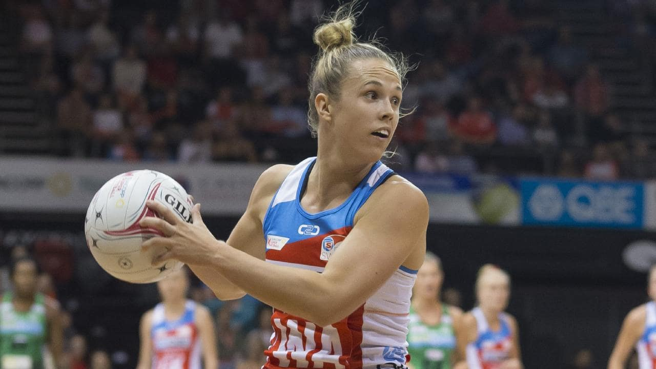 Sydney Swifts centre Paige Hadley could be a surprise inclusion after missing the Commonwealth Games. Picture: AAP
