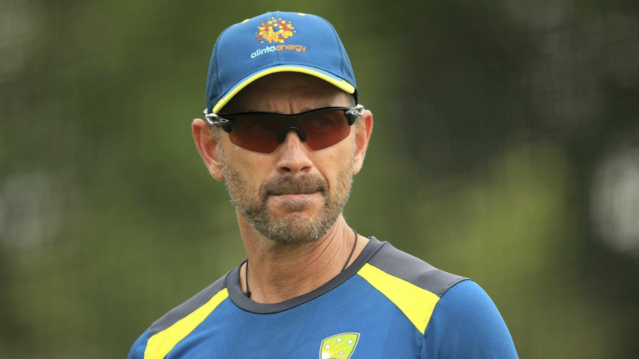 Justin Langer had been doing it tough. Picture: PA