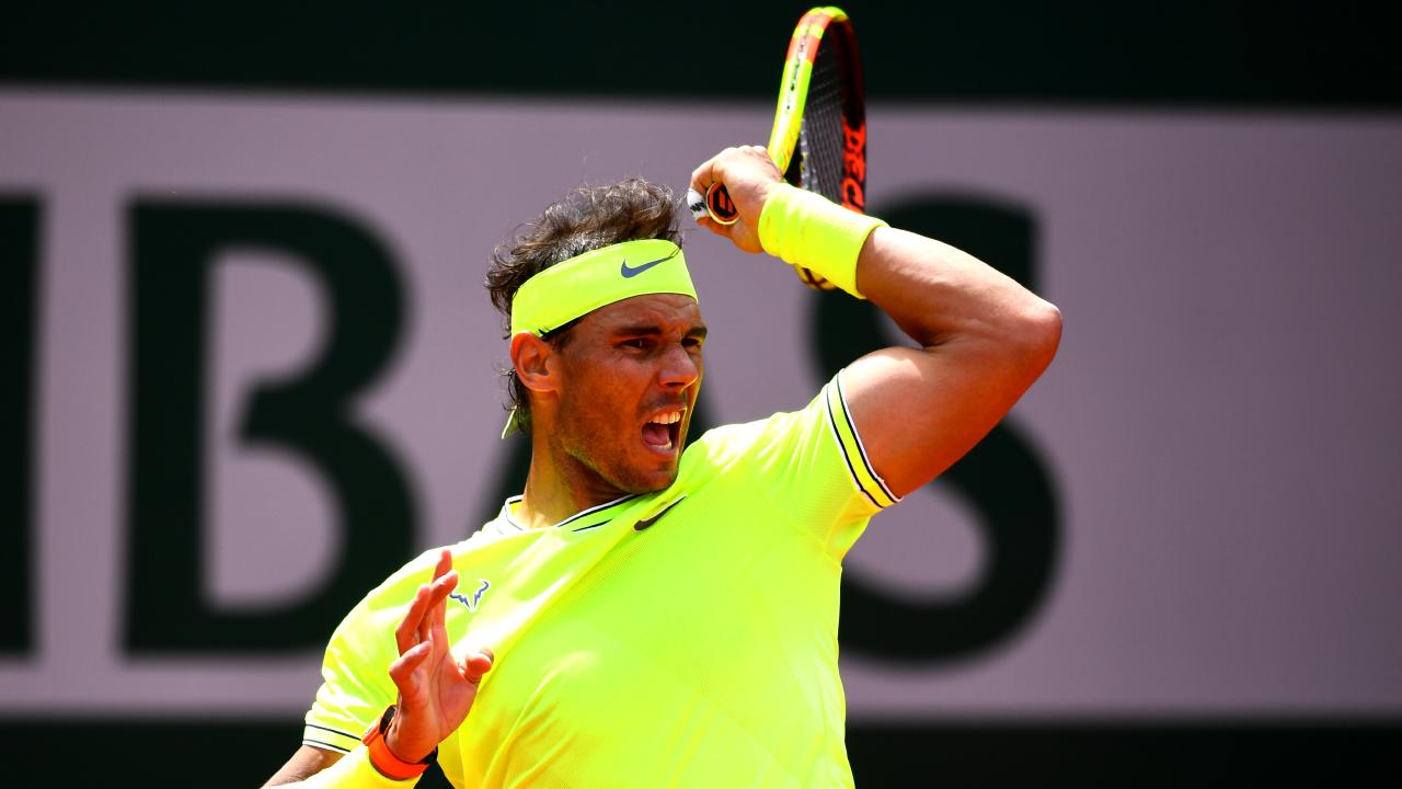Rafael Nadal is chasing his 12th French Open title. Picture: Getty Images