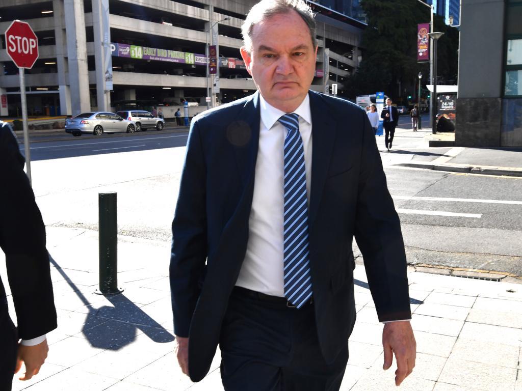Former Ipswich mayor Paul Pisasale. Picture: AAP Image/Darren England