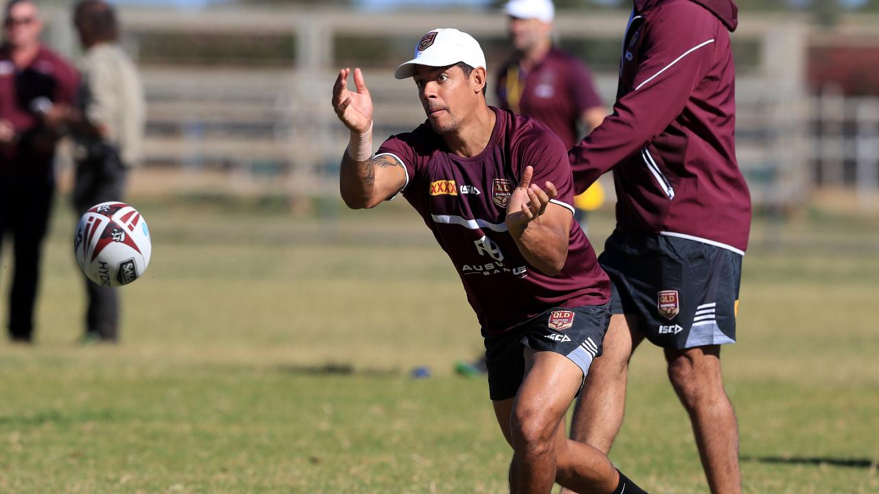 It's probably not the news Gagai wanted in Queensland training. Image: Adam Head