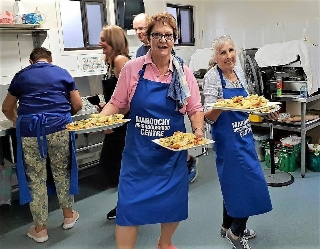 Maroochy Neighbourhood Centre are looking for three people who are competent at cooking to join our team of volunteers in our community dinner kitchen.