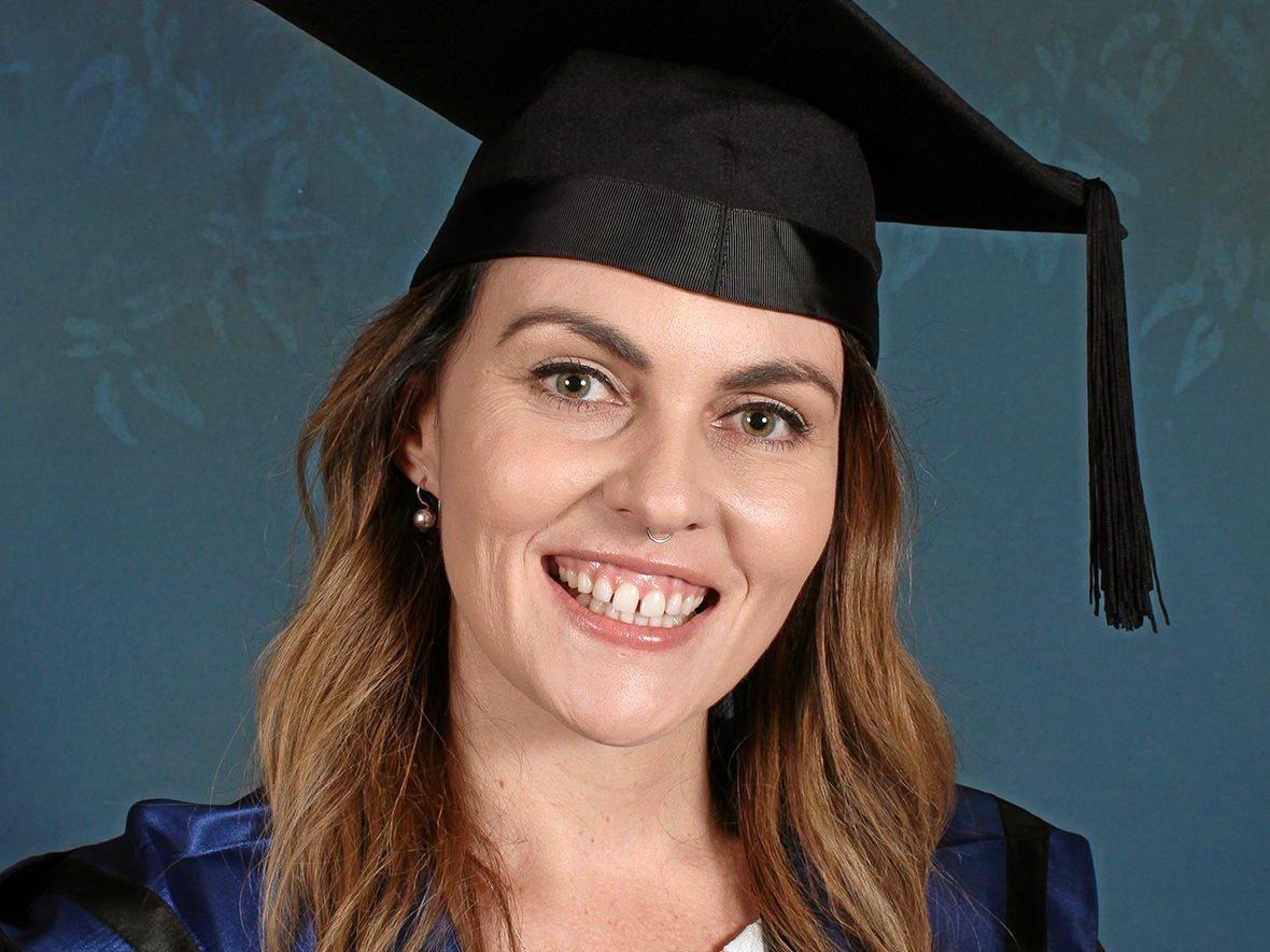 USC Psychology graduate Jessica Doak.