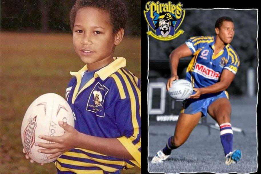 CLASS ACT: Moses Mbye has never forgotten where he comes from and Noosa Pirates could not be prouder of his Origin debut.