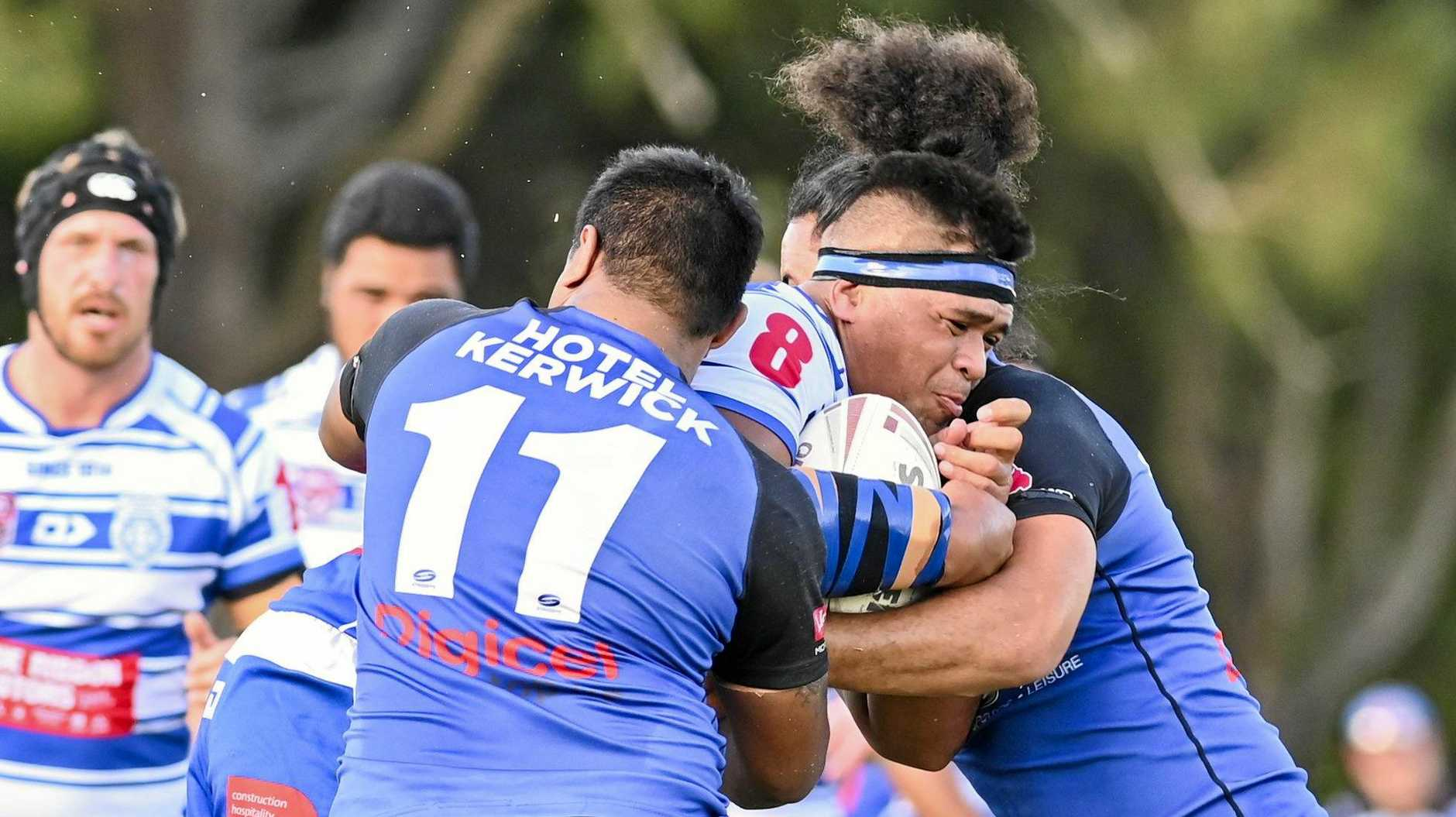 MOVING FORWARD: Brothers and SEQ rep Josh Afoa.