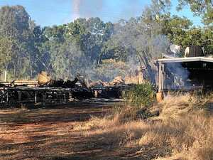 UPDATE: House was fully ablaze when firies arrived
