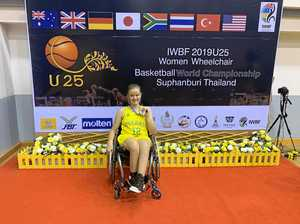 PICS: Silver lining for Gladstone wheelchair basketballer