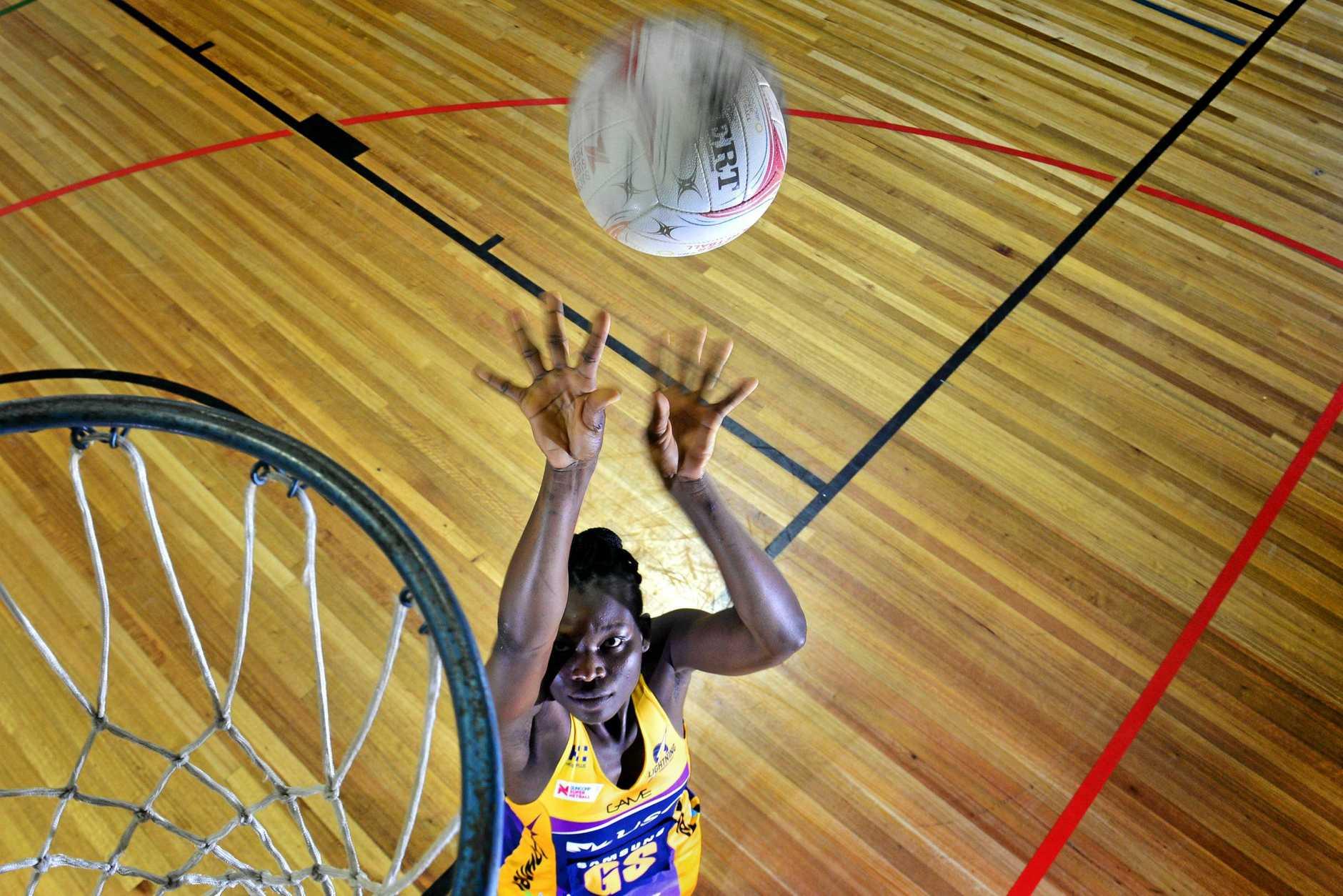 Peace Proscovia Drajole Agondua is a professional Ugandan athlete who plays netball for the Sunshine Coast Lightning in the Australian Super Netball league