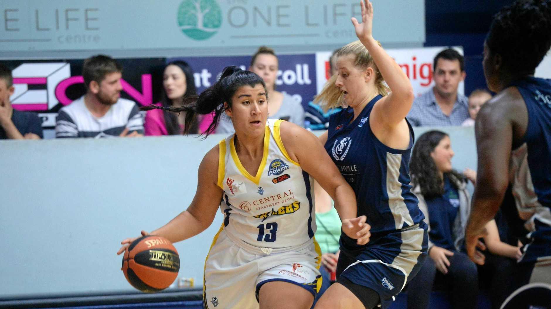 Basketball: Power's Ashleigh Kelman-Poto.