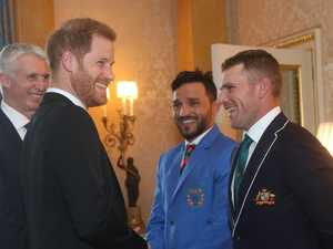 Prince Harry sledges Aussie skipper