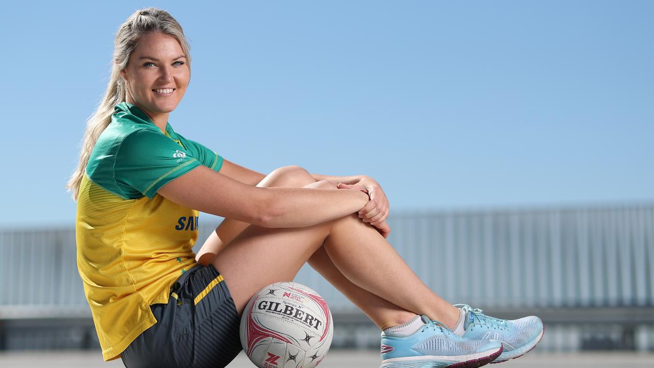 World Cup member Gretel Tippett. Picture: Peter Wallis
