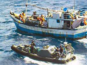 Asylum seeker boat intercepted